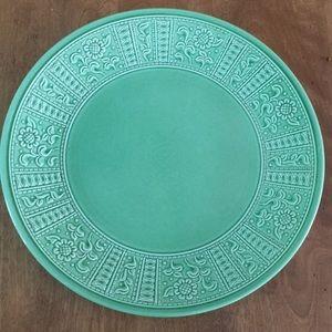 Other - Laveno Italian diamondstone serving platter green